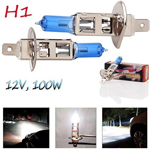 Type Super White Headlight Bulb - 8