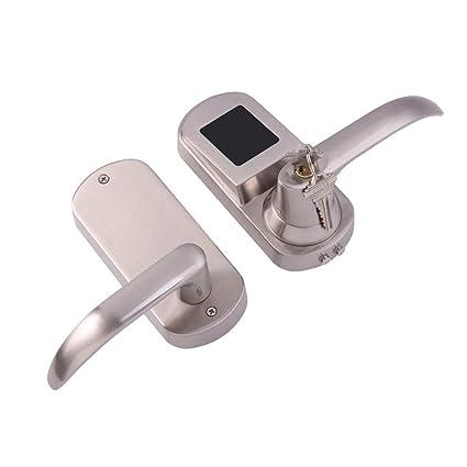 B Blesiya Cerradura de Seguridad Electrónica con Llaves Desbloqueo de Claves y Teléfono Inteligente NFC Control