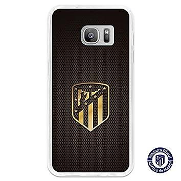 Atlético de Madrid Carcasa Escudo Oro Samsung Galaxy S7 ...