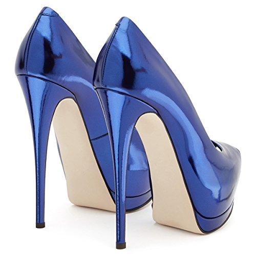 Zapatos Zapatos Noche Carrera Tac y Hebilla Mujer y Oficina Acentuados de XUE Primavera PU Fiesta Verano pqfFdFxTw