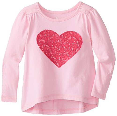 The Children's Place Baby Girls' High Low Tunic, Pink Tint, 18 24 Months