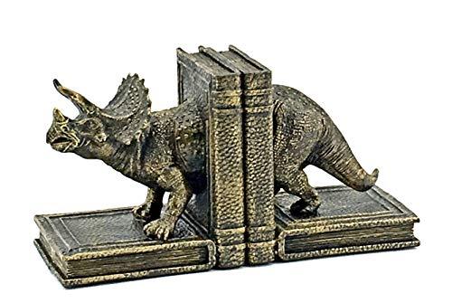 Bellaa 24223 Dinosaur Bookends -