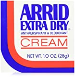 ARRID Extra Dry Anti-Perspirant Deodorant Cream 1 oz (Pack of 6)