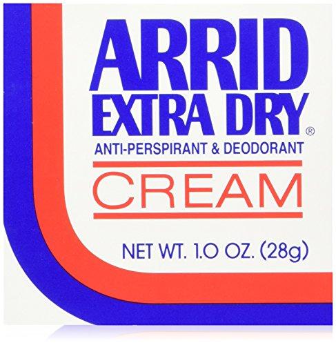 ARRID Extra Dry Anti-Perspirant Deodorant Cream 1 oz (Pack of 6) (Deodorant Dry)
