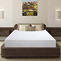 Olee Sleep 7 Inch I-Gel Deluxe Comfort Memory Foam Mattress Full, 07FM01F