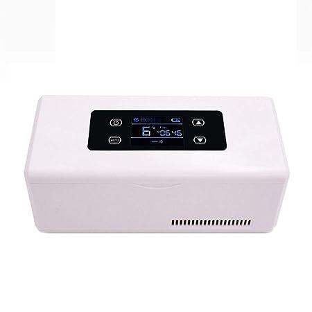 Mini nevera HLF- Refrigerador médico portátil + congelador de ...