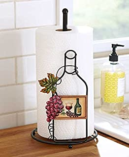 The Wine Themed Paper Towel Holder