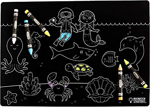 Under the Sea Chalkboard Place Mat and - Brads Creative Imaginations