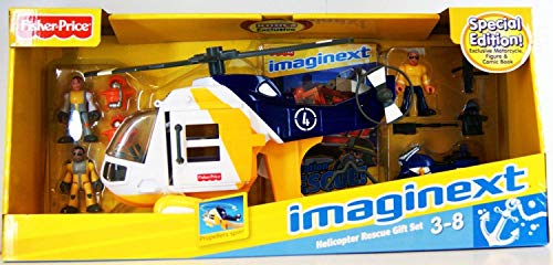 Imaginext Helicopter Rescue Gift Set By Fisher-Price