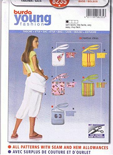 Burda Young Fashion Bags 8235 Craft Pattern