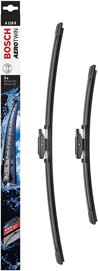 Bosch Superplus SPOILER essuie-glace avant Lame Set Pour MERCEDES-BENZ C-Classe