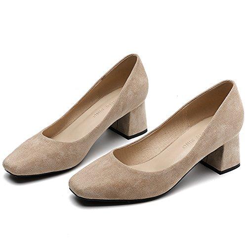 De bare Boca Con Partido Superficial Zapatos Con Mujer El 5cm Con Zapatos 33de1a