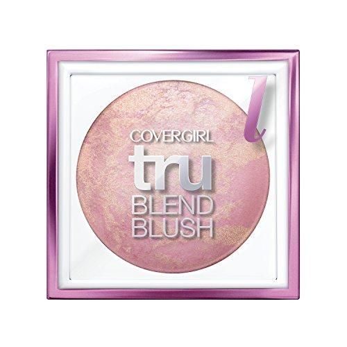 COVERGIRL truBlend Baked Powder Blush Light Rose, .1 oz Rose Tone Light