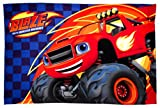 Blaze and the Monster Machines -Zoom Fleece Blanket - Large Print