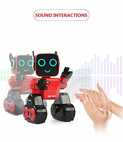 Hi-Tech Wireless Interactive Robot RC Robot Toy for Boys, Girls, Kids, Children (Red) by HI-TECH OPTOELETRONICS CO., LTD. (Image #3)