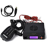 HYS Dual Band VHF/UHF 136-174/400-490MHz 15W Amateur Two Way Radio Mobile FM Transceiver Ham Radio