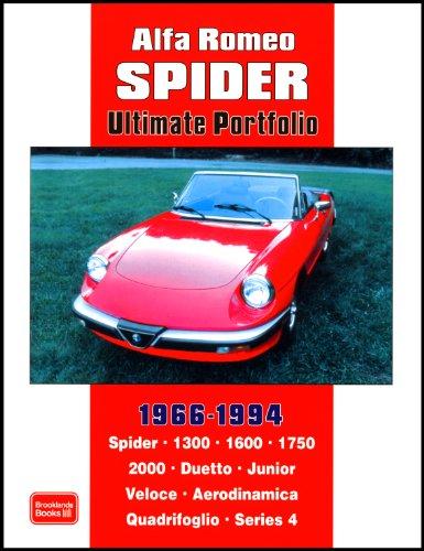 Alfa Romeo 2000 Spider Veloce - Alfa Romeo Spider Ultimate Portfolio 1966-1994