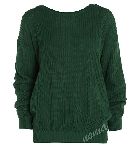 Tricot Pull Pour Ample Femmes Oversize Coupe ng6Y8