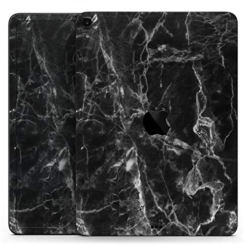Smooth Black Marble - Full Body Skin Decal for The Apple iPad 9.7-Inch 6th gen (A1893/A1954)
