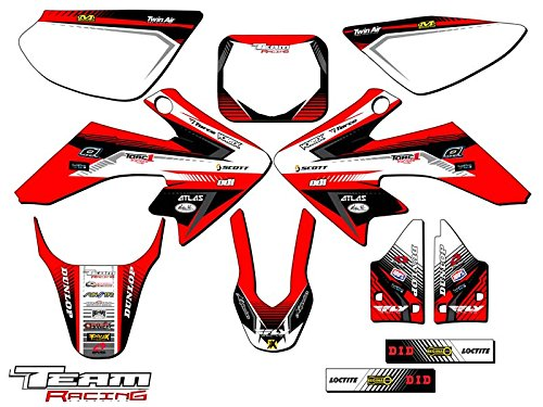 Team Racing Graphics kit compatible with Honda 2004-2012 CRF 50, ANALOG