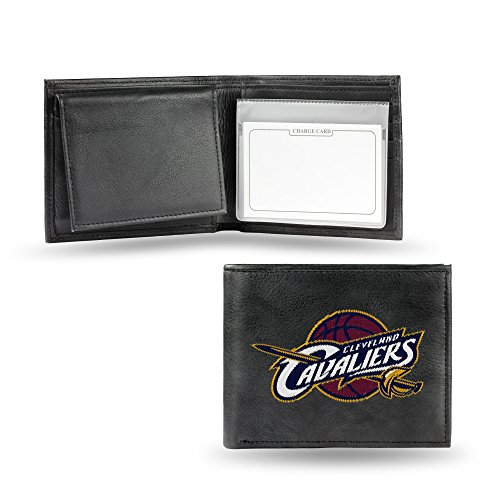 NBA Cleveland Cavaliers Embroidered Leather Billfold Wallet