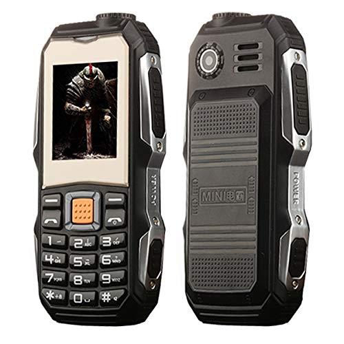 SIM-Free & Unlocked Mobile Phones L9 Triple Proofing Elder Phone, Waterproof Shockproof Dustproof, 3800mAh Battery, 1.8…