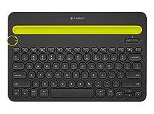 Logitech K 480, Teclado Bluetooth, Bluetooth, None, Tamaño Único, Negro