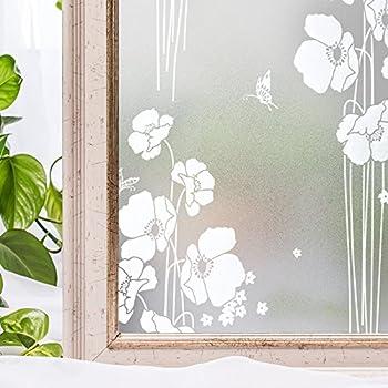 window film static privacy decoration self adhesive for uv blocking heat control. Black Bedroom Furniture Sets. Home Design Ideas