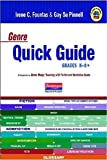 img - for Genre Quick Guide K-8 book / textbook / text book