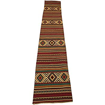 Amazon.com: Kinara Western Rio Woven Jacquard Table Runner ...