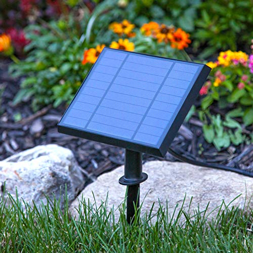 Outdoor Bistro Solar Powered Globe String Lights: Waterproof LED Outdoor Solar