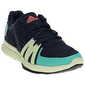 adidas Performance Women's Ively Cross-Trainer Shoe, Night Indigo/Joy Green/Flash Red, 7.5 M US