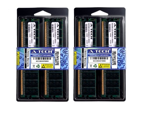 8GB Kit (4x2GB) ECC Registered DDR2 PC2-5300 (667 Mhz) Memory RAM For Hewlett Packard Compaq Servers and Workstations. Designed for the HP Compaq Proliant BL25p G2, Proliant BL465c G6 (DDR2-667MHz), Proliant BL495c G5 (DDR2-667MHz), Workstation xw9400, Proliant BL495c G6 (DDR2-667MHz), Proliant BL685c G5 (DDR2-667MHz), Proliant BL685c G6 (DDR2-667MHz), Proliant DL165 G5p (DDR2-667MHz), Proliant DL165 G6 (DDR2-667MHz), Proliant DL180 G5, Proliant DL185 G5, Proliant DL365 (DDR2-667MHz), Proliant DL385 G2, Proliant DL385 G6, Proliant DL385 G5p, Proliant DL585 G5, Proliant DL585 G6, Proliant DL785 G5, Integrity BL870c Blade PC (DDR2-667MHz), Proliant ML150 G5. DDR2 PC2-5300 Memory (667 Mhz) DIMM ECC Registered 1.8V 240 Pin Ram Memory.