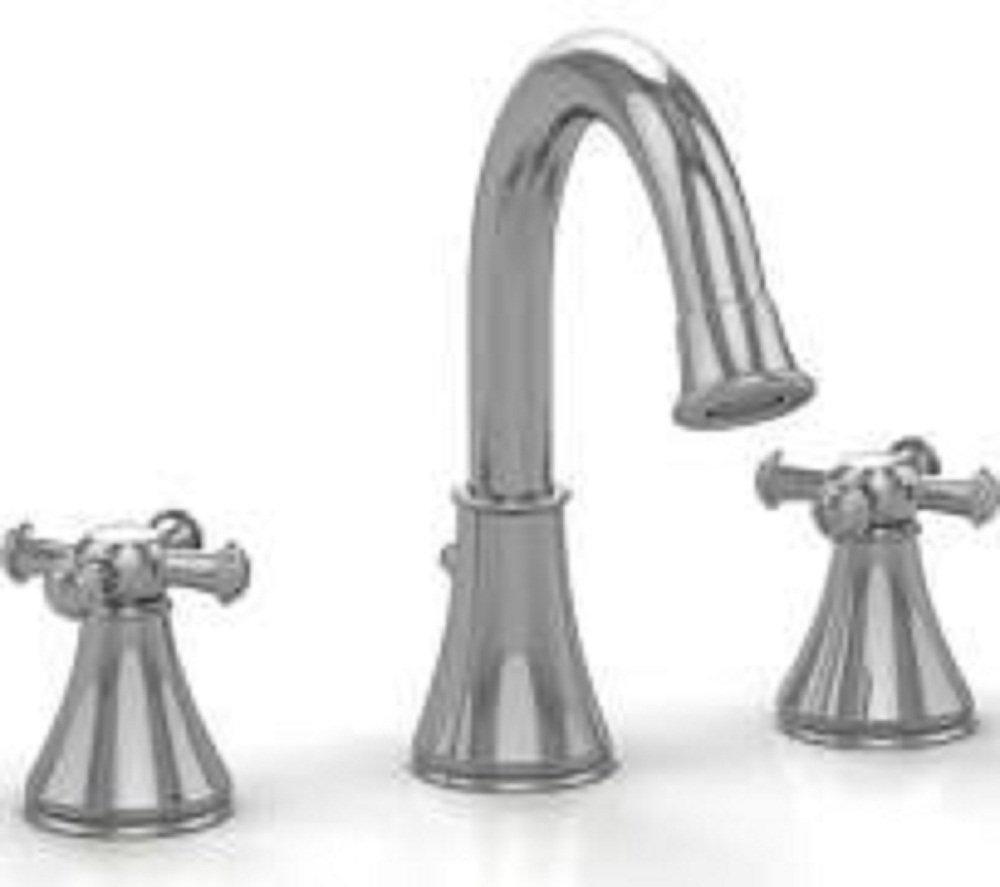 TOTO TL220DDH12#CP Faucet Widespread Vivian High Cross,