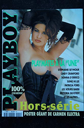 PLAYBOY HS 12 MAI/JUN 98 CARMEN ELECTRA SUNG HI LEE SEYMOUR CINDY CRAWFORD SILVSTEDT P FORD + POSTER GEANT