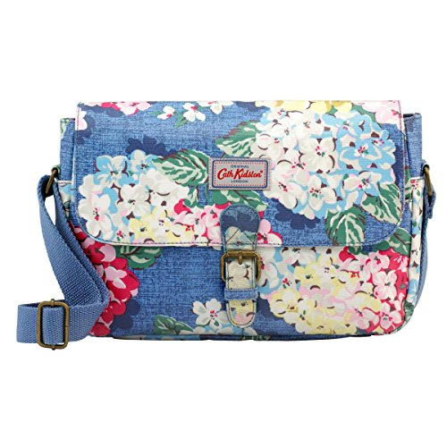 Cath Kidston Oilcloth Small Saddle Bag Crossbody 16SS Hydrangea Pattern Colour - Hydrangea Pattern