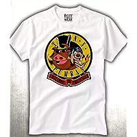 Timon Y Pumba Guns N Roses Gnr Playera Hombre Rott Wear
