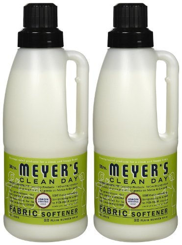 Mrs. Meyer's Clean Day Fabric Softener - Lemon Verbena - 32 oz - 2 pk