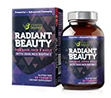 Radiant Beauty Hair Regrowth Supplement – Healthy Skin and Stronger Nails – Vitamin Bounty