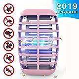 Greatico 2 Zapper Killer lamp Radiation-Bee, Trap, Pink