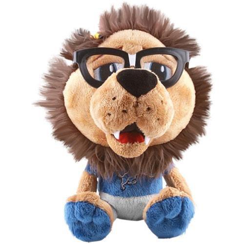 Fabrique Innovations NFL Detroit Lions Study Buddy Mascot, Medium, Brown