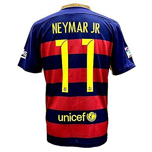 Shirts Soccer Barcelona - Barcelona Neymar Soccer Shirts (L)