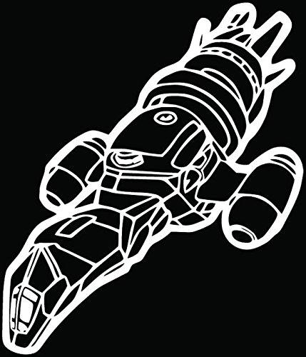 firefly window decal - 7