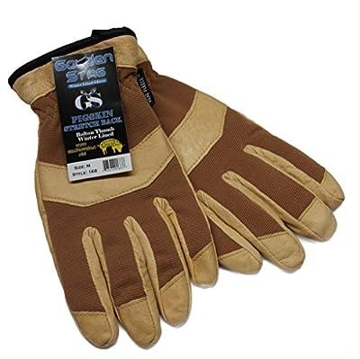 Golden Stag Pigskin Winter Lined Work Glove