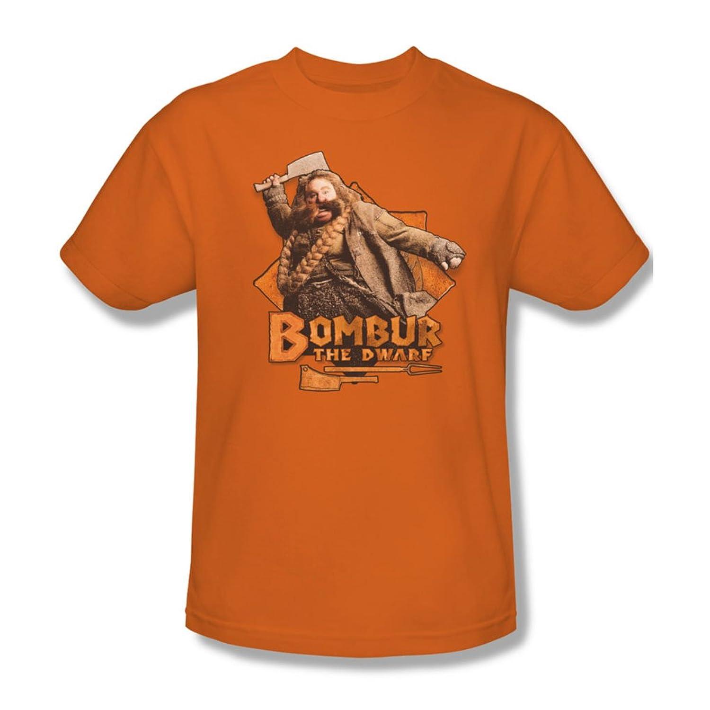 The Hobbit - Mens Bombur T-Shirt In Orange