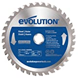 Evolution 180BLADEST Circular Saw Blade for Mild Steel, 7