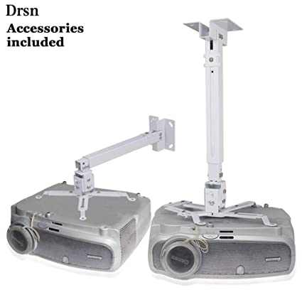 amazon com universal projector ceiling mount drsn adjustable rh amazon com adjustable universal projector ceiling mount ceiling projector mount with adjustable extension