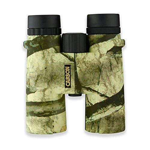 - Carson® Mossy Oak Caribou 10x42mm Mossy Oak Treestand Waterproof Binocular (MO-042)