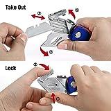 WORKPRO Folding Utility Knife Quick-change Box