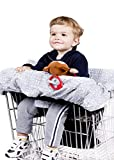 WATERPROOF 2-in-1 Baby Shopping Cart Cover & High